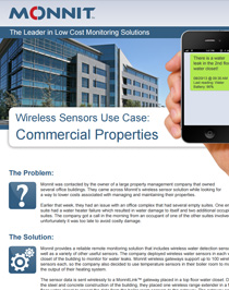 Wireless Sensors Use Case - Property Management - IoT global