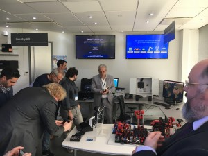 Visitors can get 'hands on' with the IoT solutions on offer