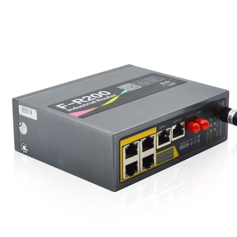 F-R200 Industrial Gigabit Cellular Router with I/O