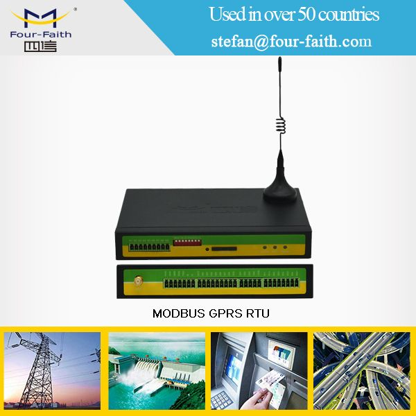 F2464 industrial grade umts rtu for industrial energy monitor