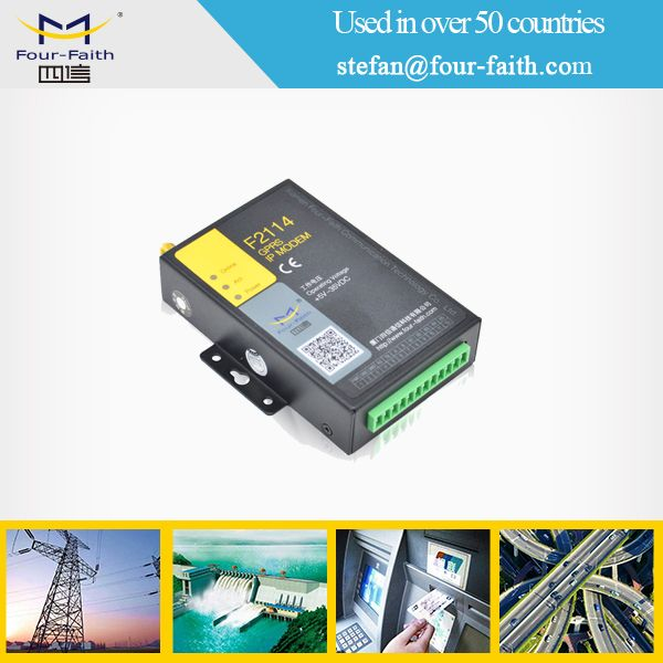 industrial rs232 rs485 modem gprs for meter reading