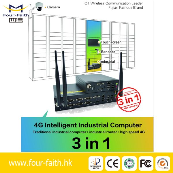 Four-Faith Dual System IPC-110 Android Industrial Personal Computer