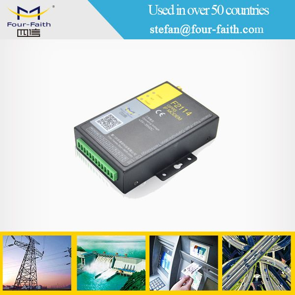 industrial m2m serial 2g 3g 4g lte modem rs232 at