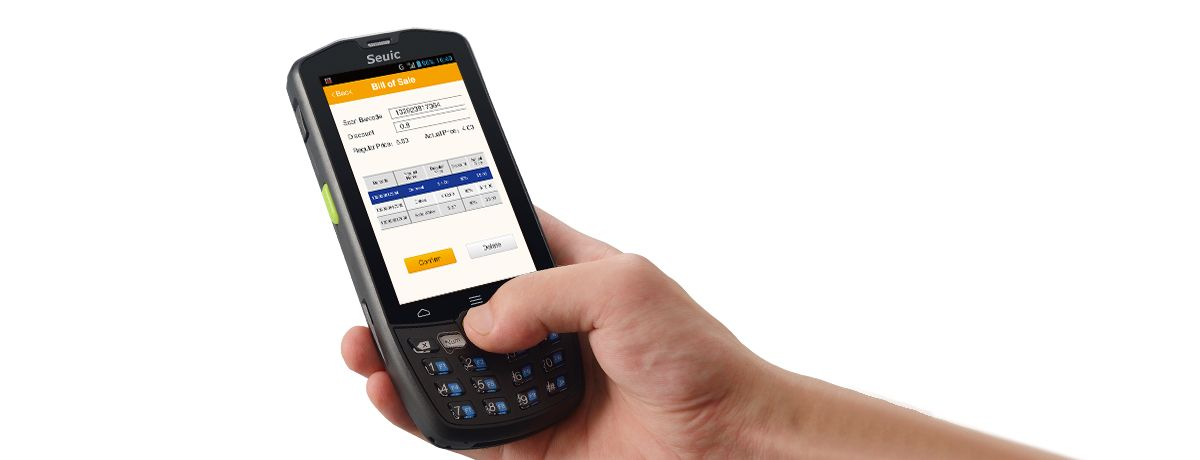 Handheld Terminal for Logistics Express-AUTOID 9