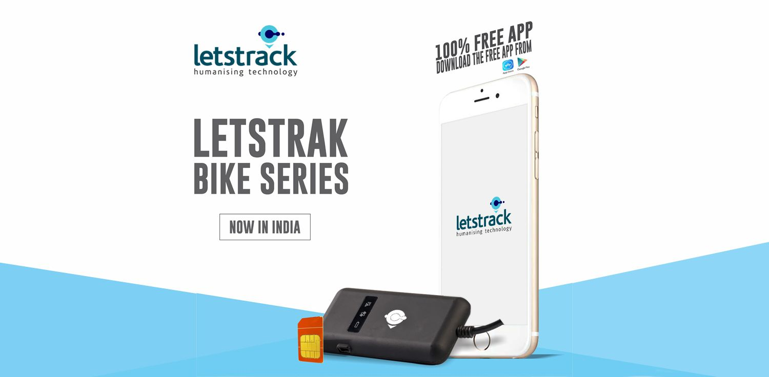 LETSTRACK DOS GPS Tracker - Vehicle Tracking Devices for Bikes, Scooty & 2 Wheelers
