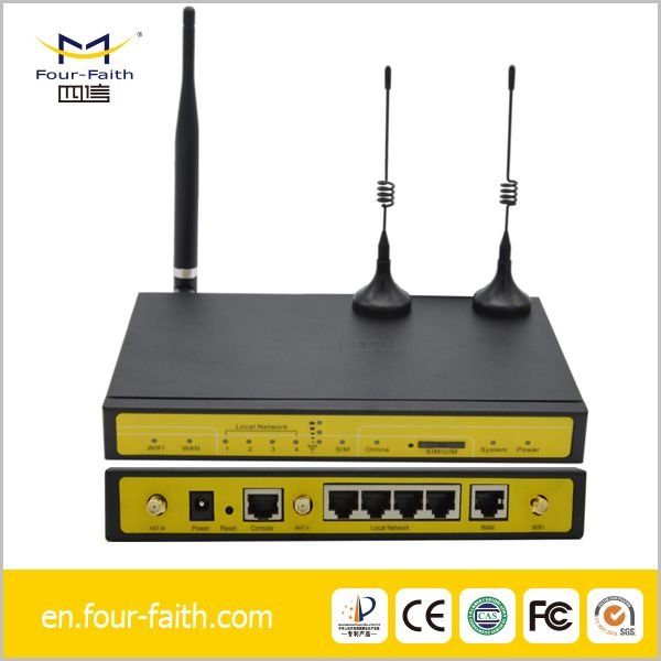 3G industrial router and back-end management