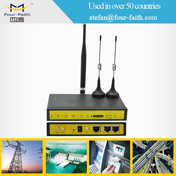 m2m industrial 3g 4g lte cellular cdma umts vpn wifi wireless router