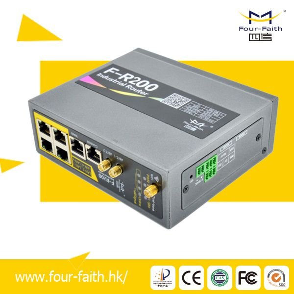 F-R100 Industrial 4g Cellular Router with VPN Support
