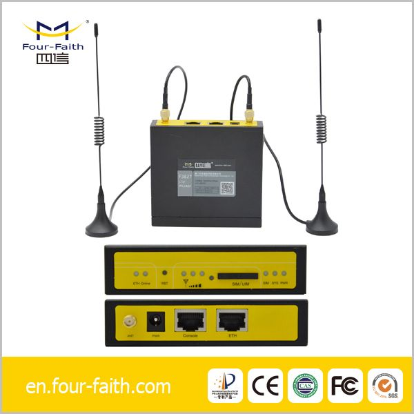 m2m wireless industrial cellular router lte