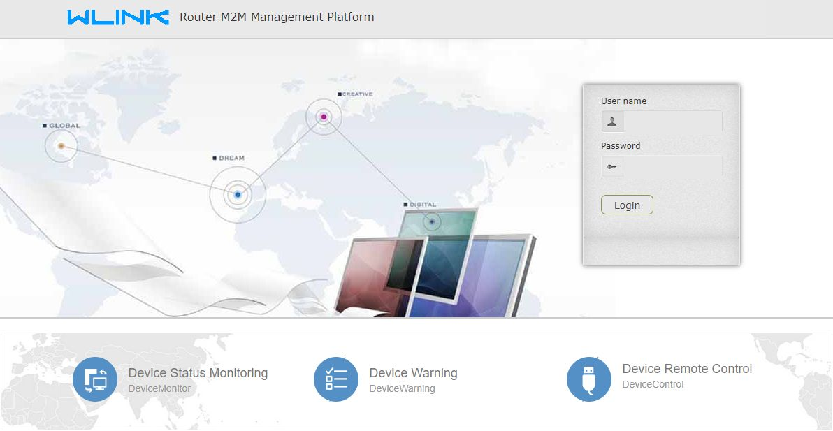 Cloud M2M Management Platform
