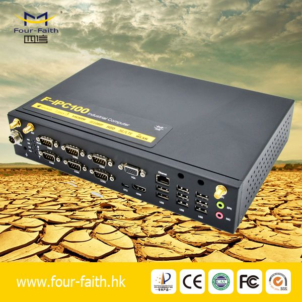 6 RS-232 Serial ports industrial personal compter