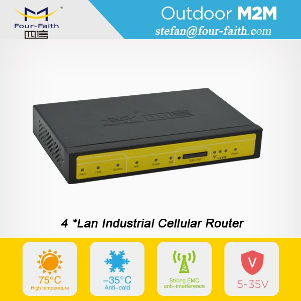m2m industrial 4g lte cellular router for cctv router