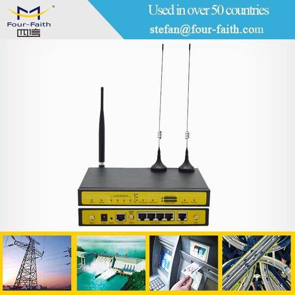 m2m rugged industrial wireless internet router for cctv camera