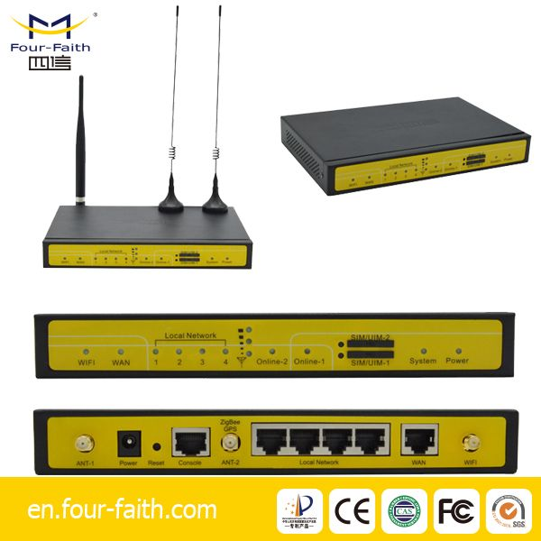 F3836 M2M VPN umts rugged industrial router din rail