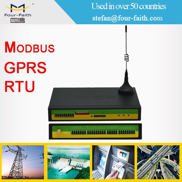 F2464 GPRS 3G Modbus RS485 TCP RTU for real time operating system