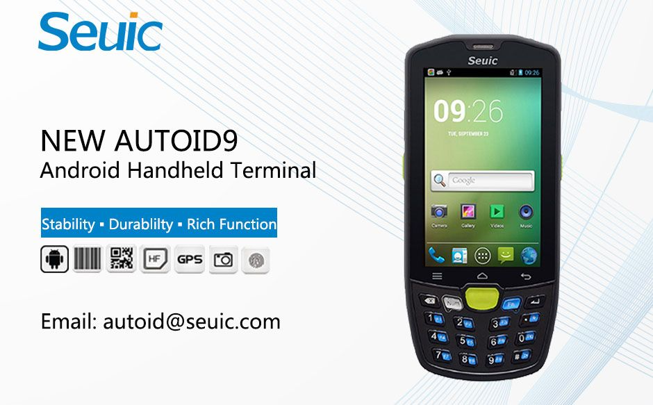 RFID Handheld Terminal for Warehouse Management-NEW AUTOID 9
