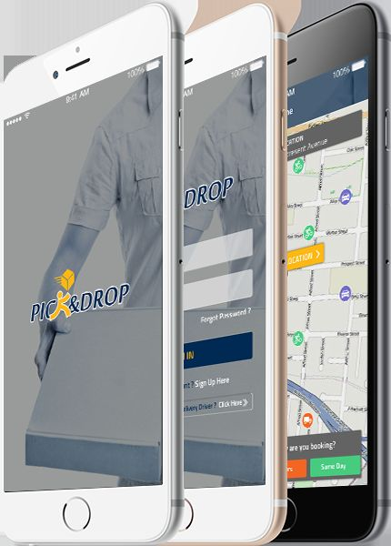 Delivery Management & Package Tracker Mobile App