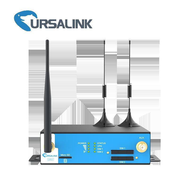 UR51 Industrial 3G/4G Cellular VPN Router 3G Smart Grid VPN