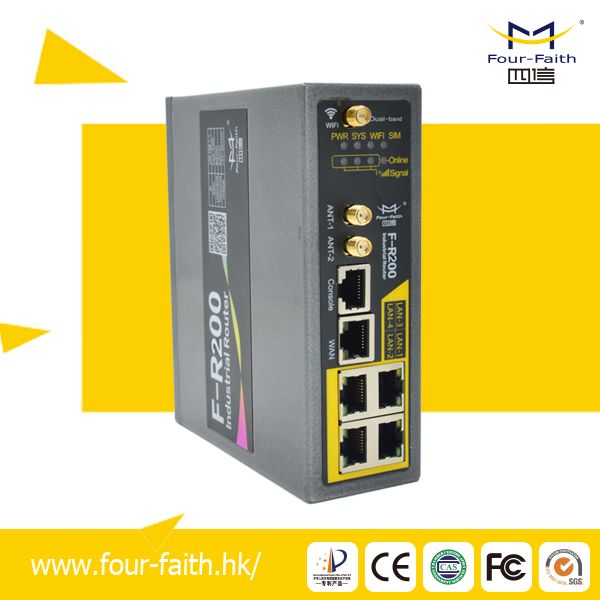 F-R200 Industrial Grade 4g Wireless Router with SIM Card Slot