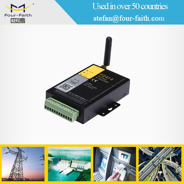 RS232 serial wireless CDMA industrial modem with AT command celular modem gsm