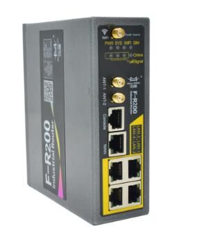 F-R200 3G/4G Industrial Router