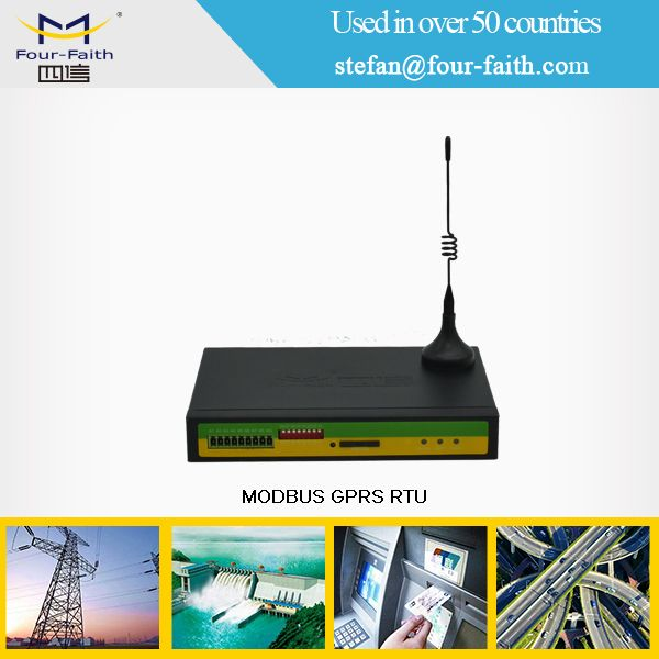 relay output wireless 3g RTU with digital input & sim slot for oil & gas