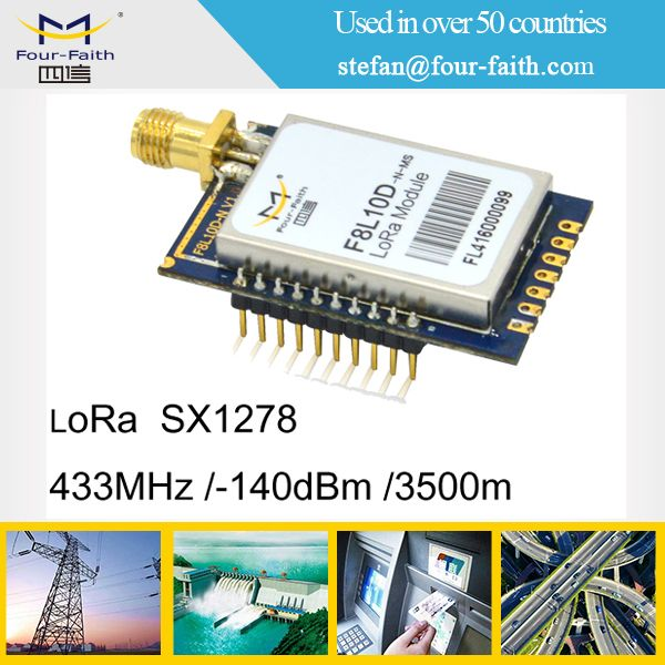 LoRa low power long distance 8KM SX-1278 wireless module