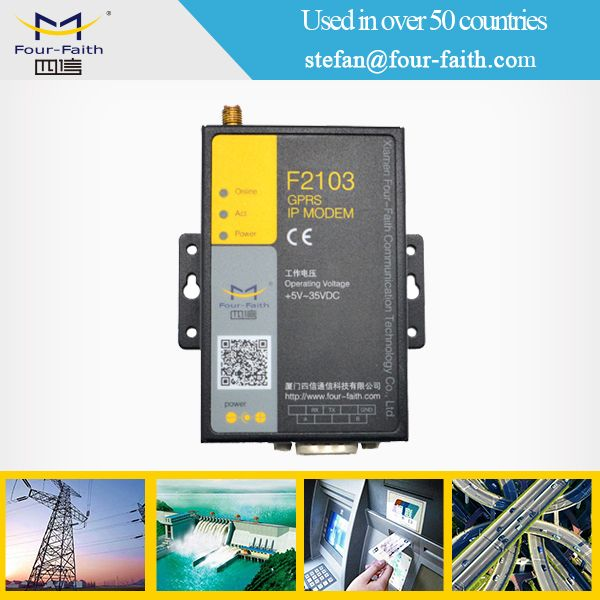 m2m gsm modem with digital i/o