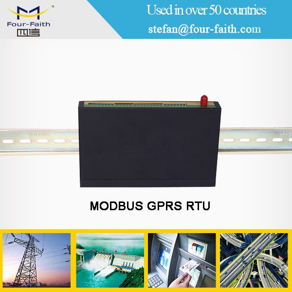 F2464 gprs wcdma 3g modbus rtu gateway for industrial energy monitor