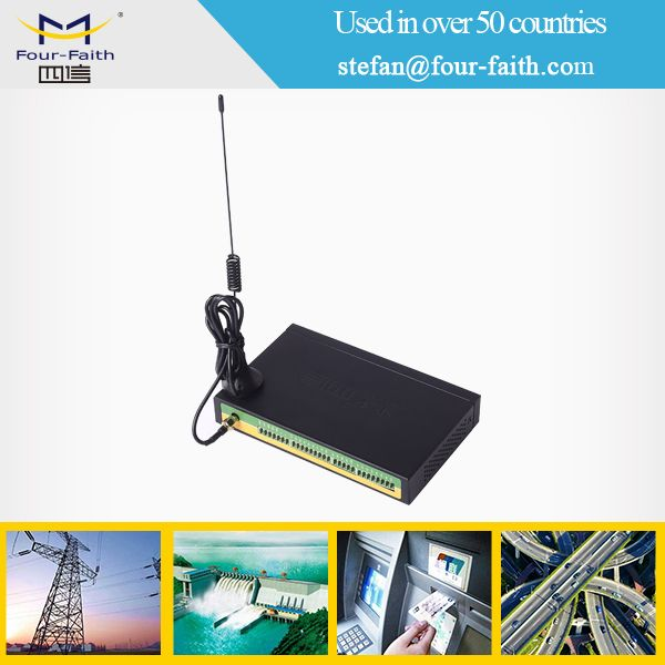 F2464 gsm 3g m2m rtu for industrial energy monitor