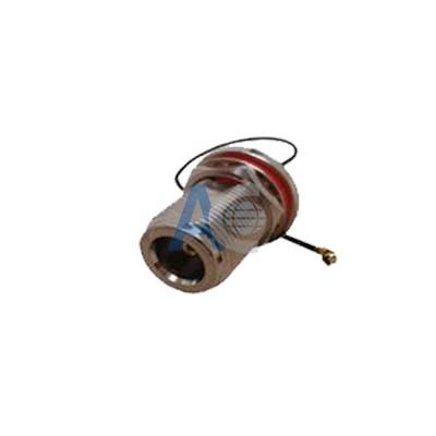 Bulkhead N Female to IPEX Coaxial Pigtail Cable