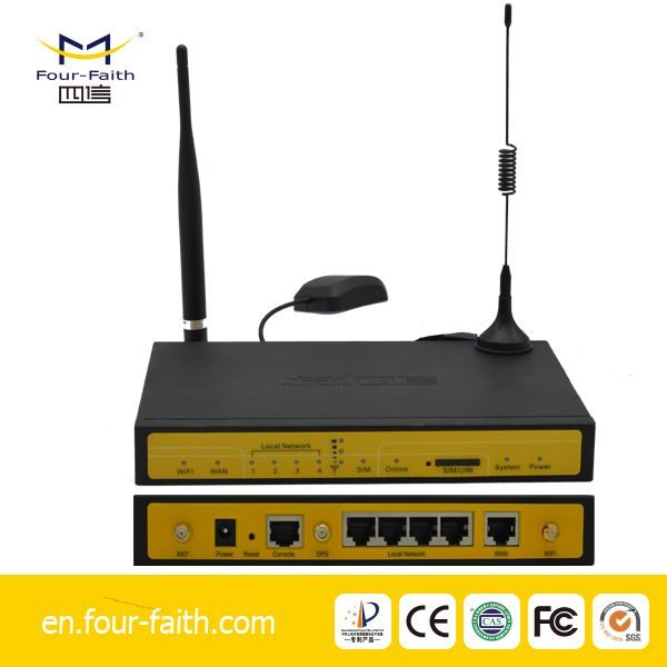 industrial 3g evdo gsm dual sim card router with ethernet port