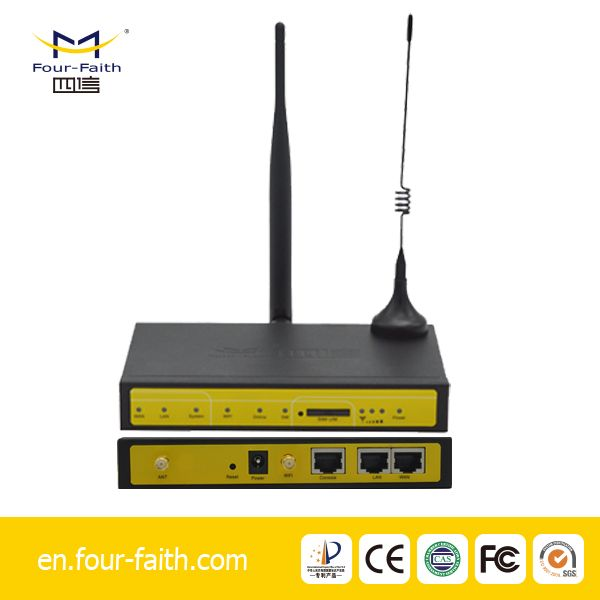 m2m cctv router 3g wireless port with serial
